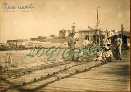 LIBIA TOBRUK - BASE NAVALE 1913 - Guerra, Militari
