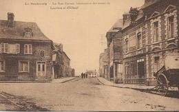 Carte Postal LE NEUBOURG  Rue Carnot, Intersection Des Routes De Louviers Et D'Elbeuf - Le Neubourg