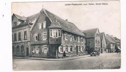 D-10656  Gross-gerau : HOTEL-rESTAURANT ZUM ADLER - Gross-Gerau