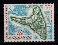 Comores - YV PA 49 N** Anjouan Cote 16 Euros - Airmail