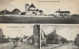 Carte Postal OTTMARSHEIM Couvent Et Rue - Ottmarsheim