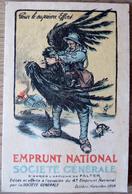 Calendrier 1919 Emprunt National Société Générale - Calendriers