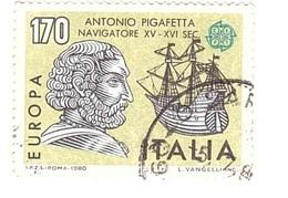 1980 £170 EUROPA ANTONIO PIGAFETTA - 1946-.. République
