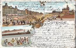 Ostende - Carte Multivues 1901 - Belgique