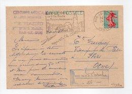 - Carte Postale CEINTURES MÉDICALES PLAZERD, BAR-LE-DUC Pour TISSAGES DUGUEY, FLERS (Orne) 24.11.1964 - - Entiers Postaux
