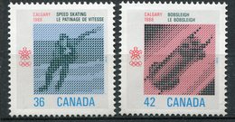 CANADA 1987 JEUX OLYMPIQUES D'HIVER NEUF MNH** MINT LUXE ** - 1952-.... Reign Of Elizabeth II