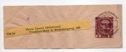 - BANDE JOURNAUX WIEN (Autriche) Pour FRANKFURT (Allemagne) 15.1.1910 - - Entiers Postaux