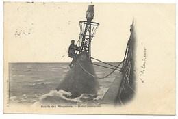 Récifs Des MINQUIERS-Bouée Lumineuse...1904  Animé   L'Eclaireur... - Jersey