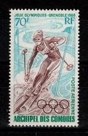 Comores - YV PA 22 N** JO Hiver Grenoble Ski Cote 7,50 Euros - Comores (1950-1975)