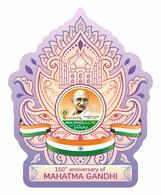 MALDIVES 2019 - Mahatma Gandhi, S/S. Official Issue [MLD190915b] - Mahatma Gandhi