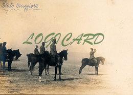 LIBIA TOBRUK - STATO MAGGIORE 1913 - Guerra, Militari
