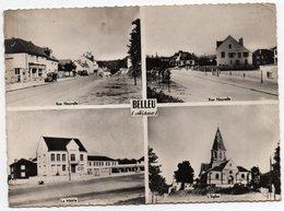 Carte Post. Mod. Dentelée 15cm X 10,5 Cm - Circulé - Dép. 02 - BELLEU -  Multivue - France