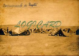 LIBIA TOBRUK - ACCAMPAMENTI DI ZAPTIE 1913 - Guerra, Militari
