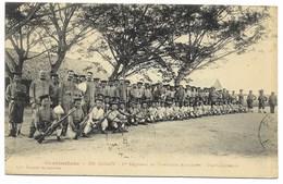 SAÏGON-1er Régiment De Tirailleurs Annamites - Une Compagnie...1912  Animé - Viêt-Nam