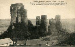 CPA - HERISSON - VIEUX CHATEAU - COTE OUEST - Autres Communes