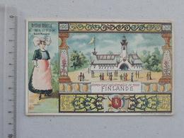 SAINT-NAZAIRE  CHROMO Brillant Oriental HAUTON - EXPOSITION UNIVERSELLE De 1900: FINLANDE - SIRVEN - Chromos