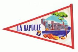 Fanion En Tissu Plastifié - LANAPOULE - La Provence Arles, Nîmes, Avignon,. - Blason - Tourisme, Voyage, Vacances( Fr83) - Publicité