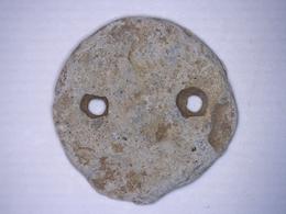 BOUTON ANCIEN EN PLOMB Pour Lester Vêtement MILITAIRE Diamètre 22 Mm - Boutons
