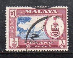 Y2232 - PENANG MALAYSIA  1960 ,  Yvert N. 47  Usato  (2380A) - Penang
