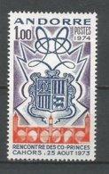 ANDORRE ANDORRA ANNEE 1974 N° 239 NEUF** NMH - Unused Stamps