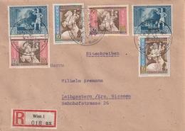 Deutsches Reich / 1942 / Mi. 820-822 Je 2x Auf Reco-Brief Ex Wien (AD28) - Germany