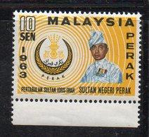 Y2244 - PERAK MALAYSIA  1963 , Yvert N. 110A ***  MNH  (2380A) Sultano - Perak