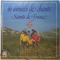 60 ANNEES DE CHANTS SCOUTS DE FRANCE / DOUBLE ALBUM VINYLE LP 45 TRS / 30 CM / 1982 - Formats Spéciaux