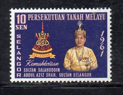 Y2249 - PERLIS MALAYSIA  1961 ,  Yvert N. 78  **  MNH  (2380A) Sultano - Selangor