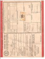 Spoorweg Adreskaart Apeldoorn 1938 35 Cent Geel - Railway