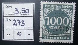 N°1446H BRIEFMARKE DEUTSCHES REICH GESTEMPELT GEPRUFT - Duitsland