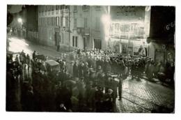 """Carte Photo - Macon, Rue Victor Hugo, Animation Devant Cinéma """"Royal"""" Angèle à L'affiche (1934) Banque De France - Macon"""