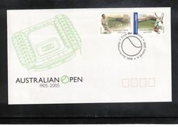 Australia 2005 Tennis Australian Open FDC - Tennis