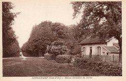 21. CPA. LONGCHAMP. Maison Forestière Du Tertre. Voiture Ancienne. - France