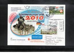 Czech Republic 2010 Weltmeisterschaft Im Schlittenhunde Rennen In Oberwiesenthal - Autres