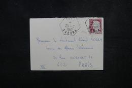 ALGÉRIE - Enveloppe De Igli Pour La Ministère Du Sahara à Paris En 1960 - L 53017 - Briefe U. Dokumente