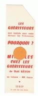 """Marque Pages Publicitaire - Librairie """" SEGEP """" Présentation De 2 Livres( B260/5) - Marque-Pages"""