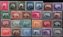Romania 1941, Scott 520-535, B179-B187, MNH, Monasteries And Fortresses, Bucovina, Basarabia - 1918-1948 Ferdinand I., Charles II & Michel