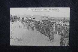 SOUDAN - Carte Postale - Tombouctou - Revue à L 'Intérieur Du Fort Bonnier  - L 53020 - Soudan