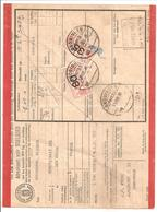 Spoorweg Adreskaart Groningen 1938 35 Cent + 80 Cent Rood - Schienenverkehr