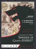 CP Exposition De Tapisserie De Game Of Thrones à Bayeux En 2019. - Exhibitions