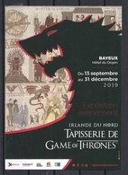 CP Exposition De Tapisserie De Game Of Thrones à Bayeux En 2019. - Expositions