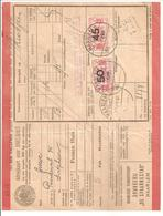 Spoorweg Adreskaart Haarlem 45 Cent + 50 Cent Rood 1940>Zutphen - Schienenverkehr