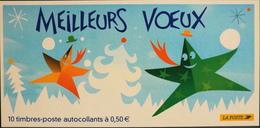 FR. - CARNET 2004 - BC44 - 10 Timbres Autocollants - Vendu à La Valeur Faciale - KlebeBriefmarken