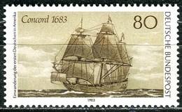 BRD - Mi 1180 - ** Postfrisch (E) - 80Pf  Einwanderung Deutscher In USA - Unused Stamps