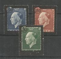 Greece 1947 King George II Funeral Issue MNH** - Greece
