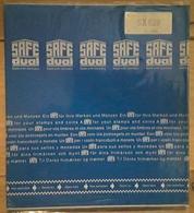SAFE DUAL 829, 5 Feuilles Pages Transparentes 36 Mm Pour ROULETTES , Sous Blister , Neuf , TB - Albums & Binders