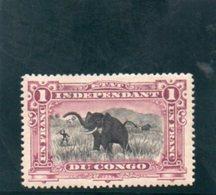 CONGO BELGE 1894-900 * - 1894-1923 Mols: Mint/hinged