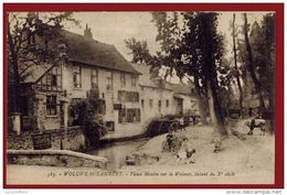 Woluwe-Saint-Lambert - Vieux Moulin Sur La Woluwe - Vue Animée - 2 Scans - Woluwe-St-Lambert - St-Lambrechts-Woluwe