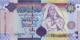 Libya 1 Dinar (P71) 2009 -UNC- - Libya