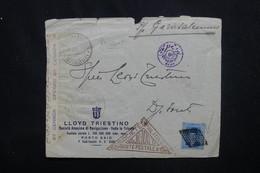 EGYPTE - Devant D'enveloppe Commerciale De Port Saïd Pour Djibouti En 1939 Avec Contrôle Postal - L 53032 - Lettres & Documents